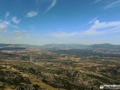 Sierra de la Cabrera-Pico de la Miel;frente batalla mejores rutas senderismo españa el paular rasca